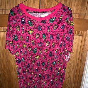 Jeremy Scott X Kenny Scharf Tee Shirt